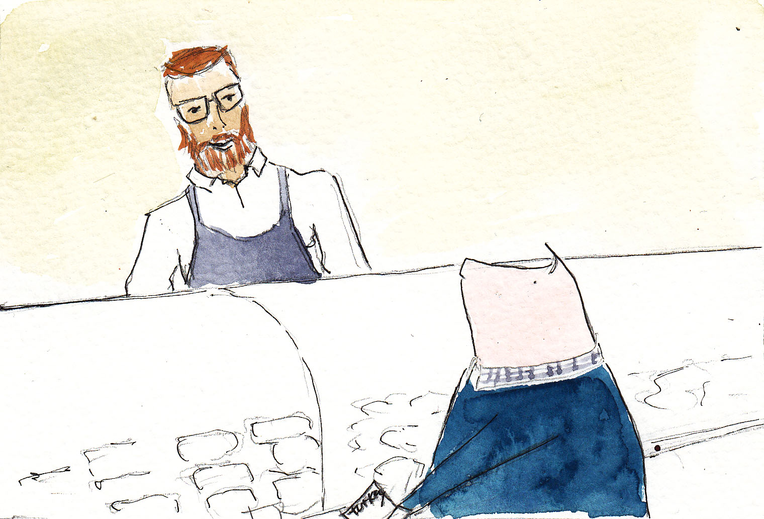 Henri Heritage hipster butcher