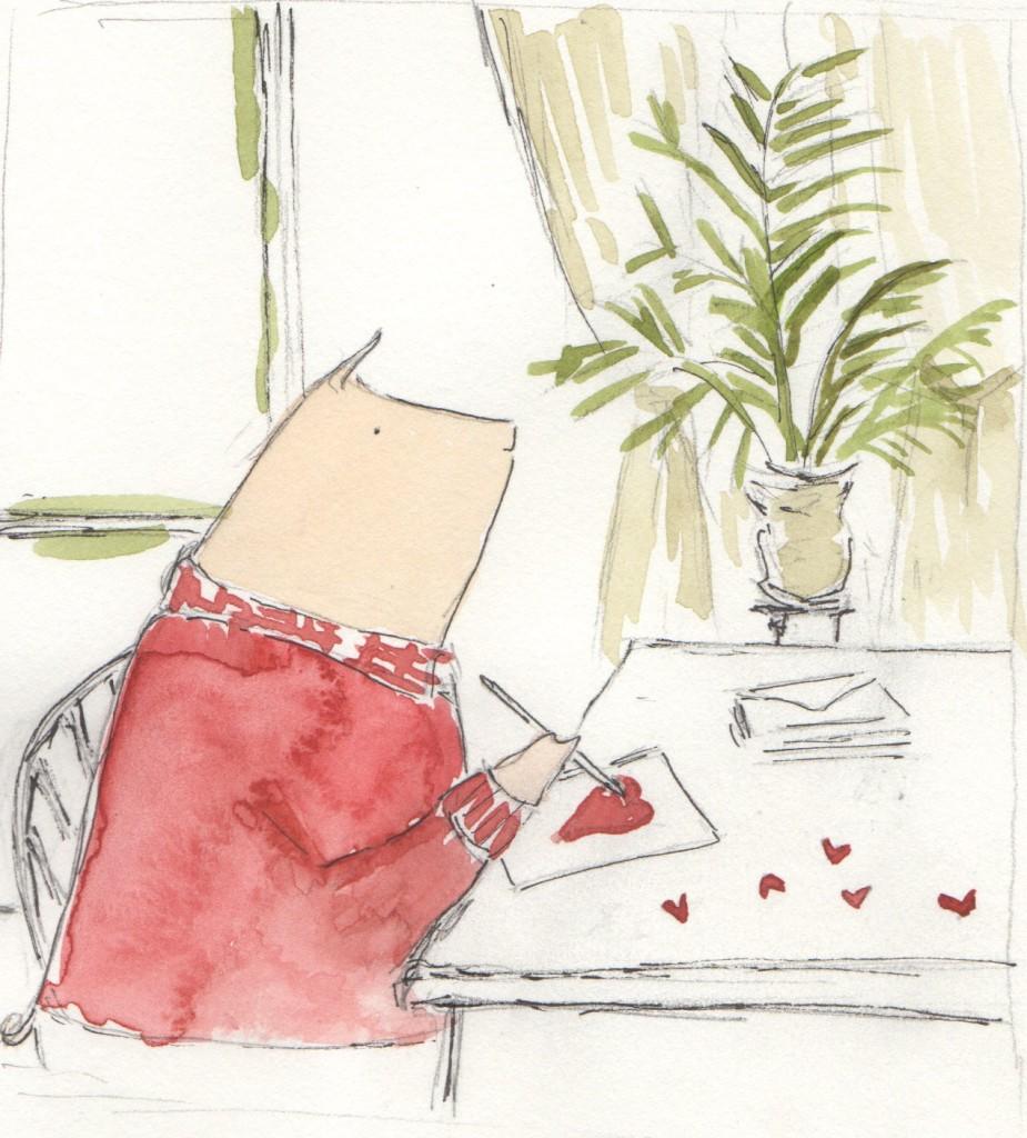 Henri Sending Valentines