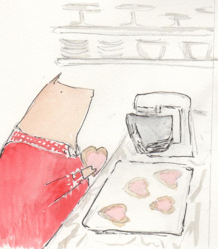 Henri Valentine Cookies